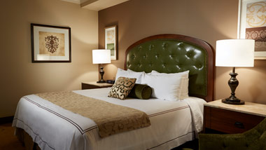 King Room at River City Casino Hotel